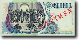 1000 Italiaanse lire-biljet