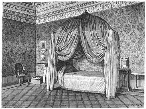 Slaapkamer van paus Pius IX.